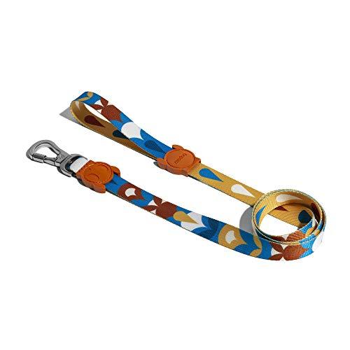 ZEE.DOG   Coleira para cachorro Yansun   Extra pequena   Chumbo para cachorro elegante   Coleira macia com gancho que trava para segurança extra