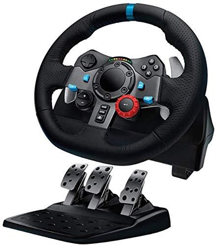 QDY Volante de Juego PS4 y PS3 Playstation 4, con Pedal, G29