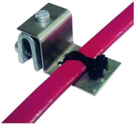 Etherma 30356 DO-11cu Zubehör Dachrinnenheizung, Falzklemme aus Kupfer