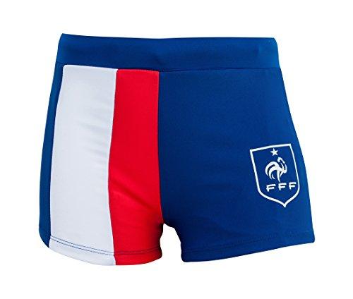 Officiële zwembroek FFF Fan blauw/wit/rood junior – collectie Frankrijk