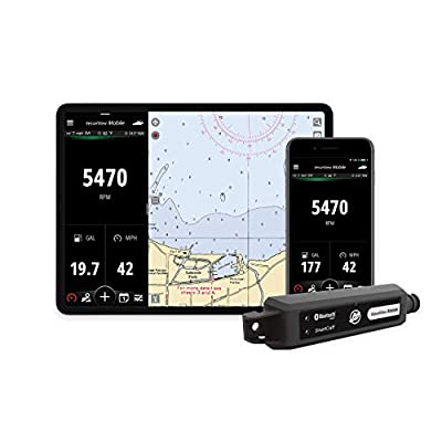 Mercury VesselView Mobile - Connected Boat Engine System for iOS and Android Devices (Renewed)