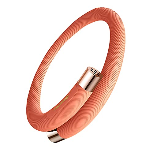 YREIFAG Mosquito Repellent Bracelets Anti Insect Midge And Bug Repellent Bands To Repel All Types of Mosquito Protects Your Kids, Waterproof & Safe for Children & Adults,Orange