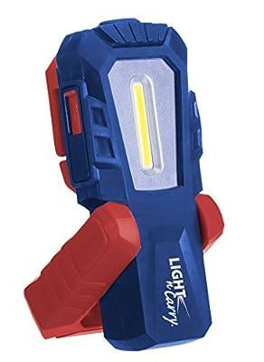 Clore Automotive Light-N-Carry Rechargeable COB LED Work Light