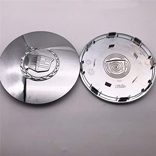 1PC First-Class ABS Plastic High Chrome Car Rim Custom Wheel Center Cap Hubcap Cover 7.875'' 9594877 Fit for 2003-2006 Escalade ESV EXT