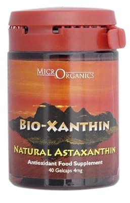 MicrOrganics Bio-Xanthin 40 Veggie caps 4mg