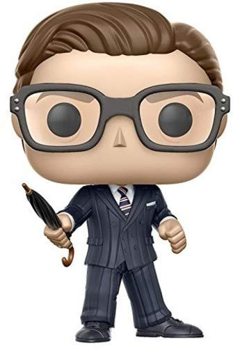 Funko- Figurine Pop Vinyl Kingsman Harry Hart, 14372