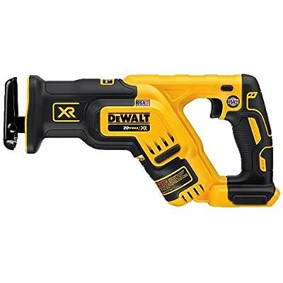 DEWALT 20V MAX XR Reciprocating Saw, Compact, Tool Only (DCS367B) from Dewalt