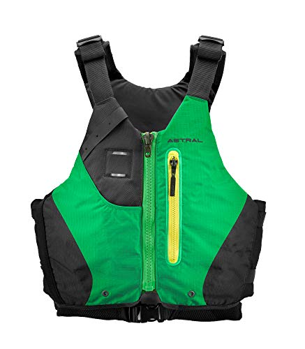 Astral Women's Abba Life Jacket PFD for Whitewater Canoeing and Touring Kayaking, Green, L/XL