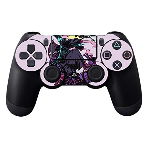 MightySkins Skin Compatible with Sony PS4 Controller - Dragon Girl   Protective, Durable, and Unique Vinyl Decal wrap Cover   Easy to Apply, Remove, and Change Styles   Made in The USA