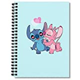 Spiral Notebook Stitch & Angel Composition Notebooks Journal With Premium Thick Hand Writing Paper Paper