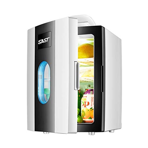 Congeladores Pequeños Hogar Refrigerador Portátil Insulina Refrigerador Portátil Medicina del Hogar Refrigerador Viaje En Automóvil 10L (Color : Blanco, Size : 23.5 * 26 * 33.5cm)