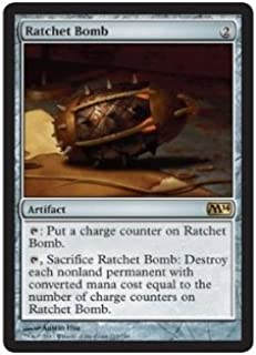 Magic: the Gathering - Ratchet Bomb (215/249) - Magic 2014 by Magic: the Gathering: Amazon.es: Juguetes y juegos