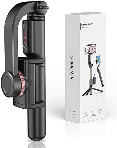 Obudyard Gimbal Stabilizer for Smartphone with Extendable Bluetooth Selfie Stick and Tripod product image