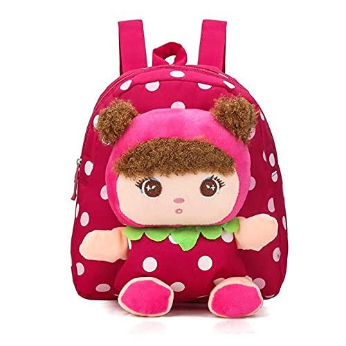 Mochilas Escolares Mochilas de felpa de la peluche de dibujos animados 3D Kindergarten Schoolbag Kids Backpack Bolsos de la escuela para niños para las mochilas de las niñas mochilas escolares juvenil