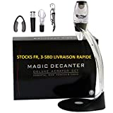 Aireador de vino Decantador de vino - ASOG Magic Decanter Jarra de vino con torre, juego...