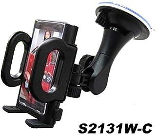 Fly Car Mount Adjustable Car Phone Holder Universal Long Arm, Windshield for Smartphones - Black (with Photo Frame)