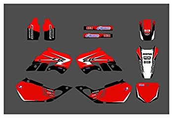 Fyjhunann DST0517 Customized 3M Motorcycle Decals Stickers Graphics Graphic Decal Kit Compatible with Honda CR125 1998-1999 CR250 1997-1999 hnfyj