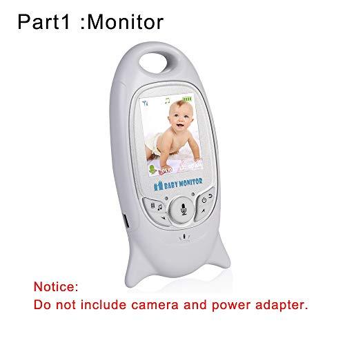 VB601Babyphone Zubehör,2,0-Zoll-LCD-Bildschirm Babyphone Kameraständer Netzteilkabel fürVB601, drahtloser2,4 GHz V601Monitor