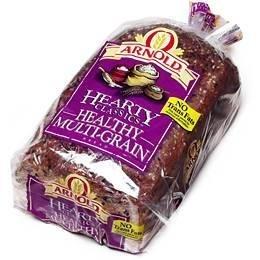 Arnold Bread Hearty Classic Healthy Multi Grain Wide Pan Loaf, 24 OZ