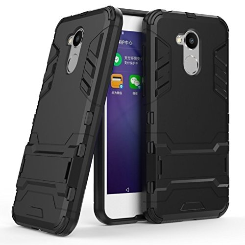 Honor 6A Hülle, Huawei Honor 6A Hülle, MHHQ Hybrid 2in1 TPU+PC Schutzhülle Rugged Armor Hülle Cover Dual Layer Bumper Backcover mit Ständer für Huawei Honor 6A 5.0