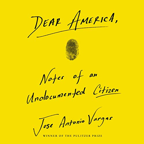 Dear America audiobook cover art
