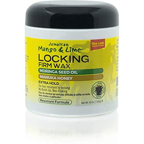 Jamaican Mango & Lime Locking Firm Wax Resistant Formula