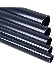 TP Gartenteich - Tubo de PVC, 10 bar y 16 bar, sin manguito, ideal para estanques, acuarios, fontanería, construcción y tuberías, 1 m, 25 / 32 / 40 / 50 / 63 de mm