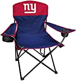 Rawlings NFL XL Lineman Tailgate and Camping Folding Chair, New York Giants