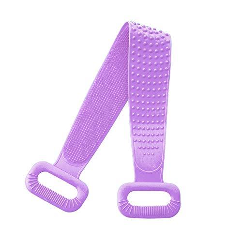KKLU 30In Silicone Bath Body Brush Scrubber Magic Silicone Brushes