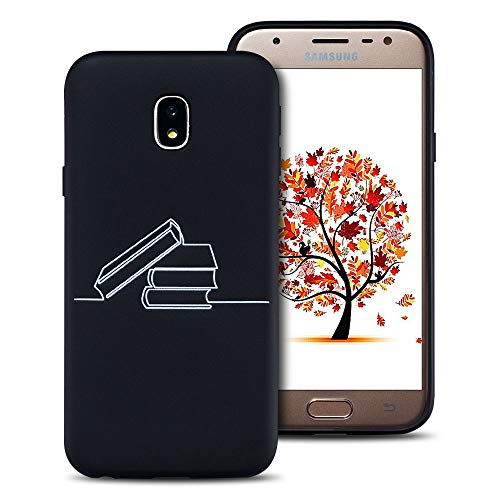 FroFine - Carcasa para Samsung J3 2017 (Silicona), Color Negro