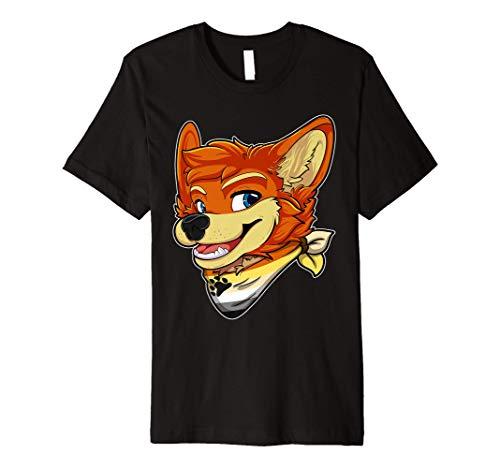 Bear Fursona Furry Fox Gay Rights Pride Week Premium T-Shirt