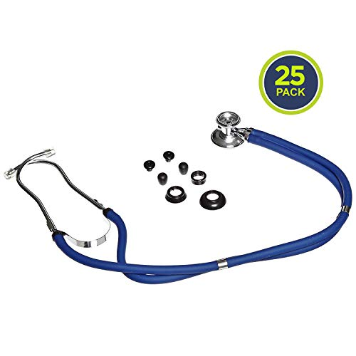 Lowest Price! Primacare CSDS-9295-BL Sprague Rappaport Stethoscope, 30 in, Blue (Pack of 25)