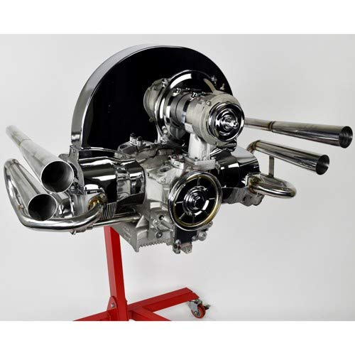 Stainless 4 Pipe Exhaust, For Type 1 VW, Compatible with Dune Buggy