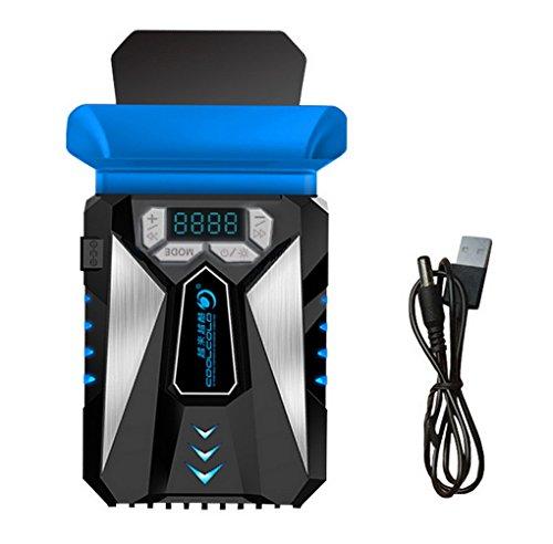 Restbuy Laptop Kühler Notebook Cooler mit einstellbarer Windgeschwindigkeit und automatischer Temperaturkontrolle