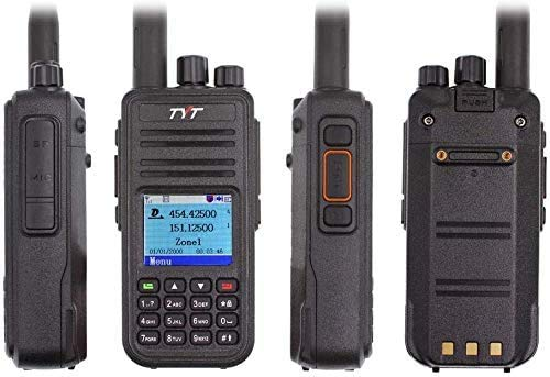 TYT MD-UV380 with GPS MD380 VHF/UHF MD-380 Dual Band Handheld Two Way Radio...