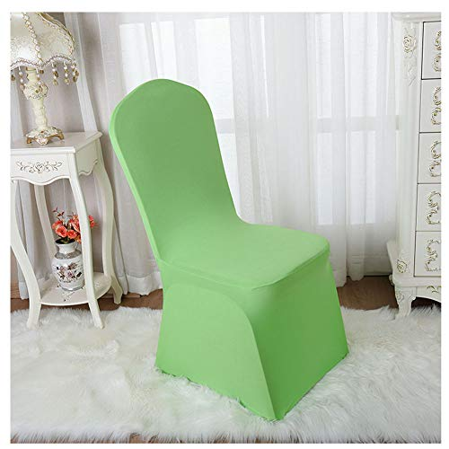 ZIXING Fashion Cubiertas Stretch Chair de Modernas Fundas de poliéster Lycra Silla para Bodas Evento Aniversario Dinning Decoración 1 Pieza