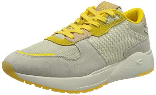 camel active Damen Ramble Sneaker, beige/Yellow, 41 EU