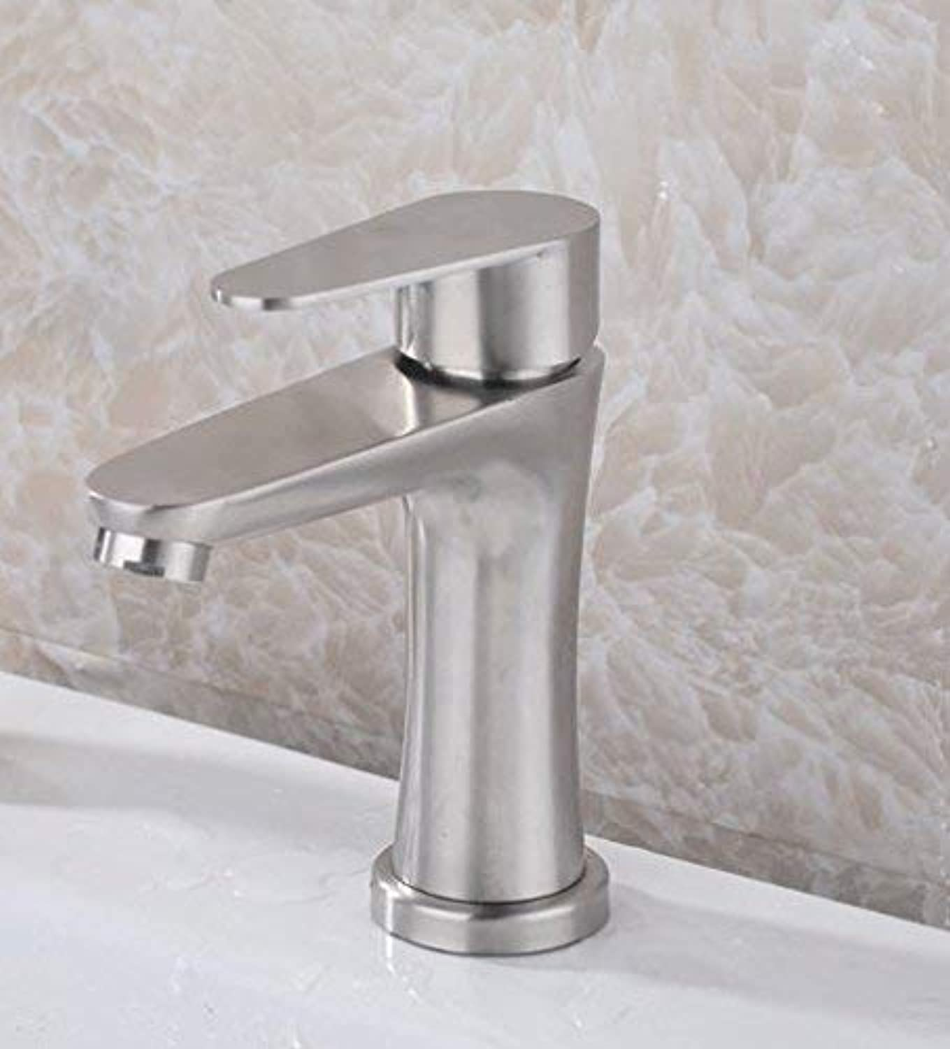 Oudan Sink Taps Hot and cold stainless steel bathroom Wash your facePots