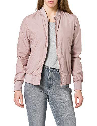 Urban Classics Ladies Light Bomber Jacket Chaqueta, Duskrosis, XL para Mujer
