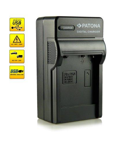 ¡Novedad! – El primero cargador de batería con conexión micro USB · adecuado para la batería DMW-BCG10E para Panasonic Lumix DMC-TZ6   DMC-TZ7   DMC-TZ8   DMC-TZ10   DMC-TZ18   DMC-TZ20   DMC-TZ22   DMC-TZ25   DMC-TZ31   DMC-ZS1   DMC-ZS3   DMC-ZX3 y mucho más…
