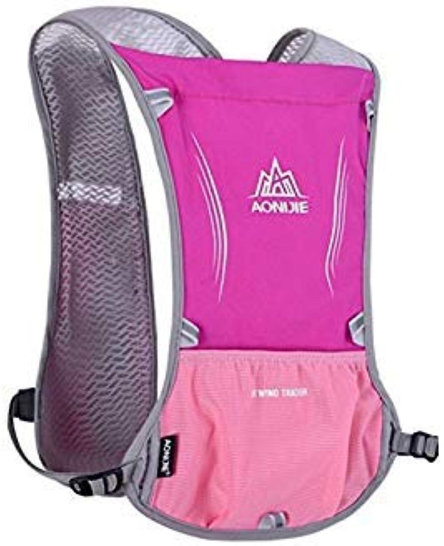 6   AONIJIE 5L Men Women Lightweight Running Backpack Outdoor Sports Trail Racing Marathon Hiking Fitness Bag Hydration Vest Pack