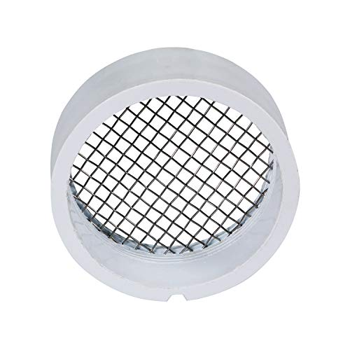 """Raven R1508 2 pulgadas PVC terminación ventilación con pantalla de acero inoxidable, 2"""""""