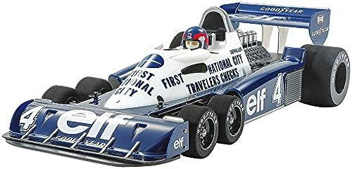 TAMIYA 47392 47392-1 10 RC Tyrrell P34 Monaco lackierte Karosserie, ferngesteuertes Auto Fahrzeug, Modellbau, Bausatz, Hobby, Zusammenbauen, Weiß