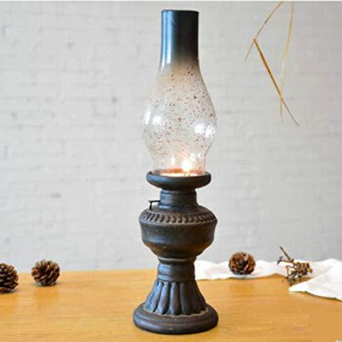 CFLFDC Kandelaar ouderwetse Kerosene Lamp Kandelaar Woonkamer/huis Accessoires/gouden bruiloft geschenken, groot