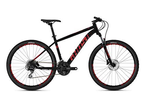 Ghost Kato 2.7 AL U 27.5R Mountain Bike 2020 (XXS/32cm, Jet Black/Riot Red)