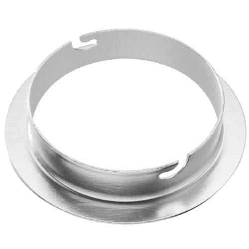 Walimex 12713 - Adaptador de softbox para Elinchrom (diámetro Exterior de 15.2 cm)