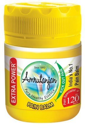 Amrutanjan Pain Rub (Balm) Yellow - 55ml (Pack of 3)