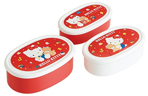 Seal container 3P set [Hello Kitty 80'S]