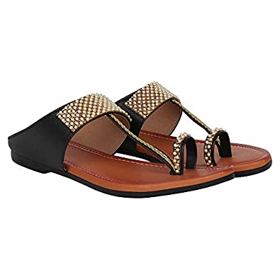 Footshez Women's Flat Slippers/Chappals