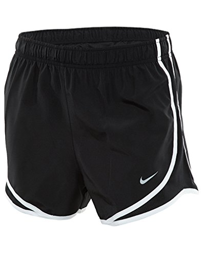 Nike Women's Dri-fit Tempo Track 3.5 Short (Large, Black/White/Wolf Grey)